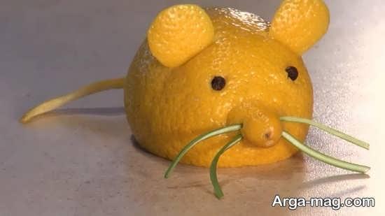 کاردستی هنرمندانه موش