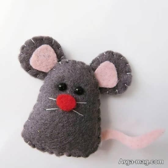 کاردستی نمدی موش