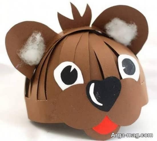 کاردستی مقوایی موش