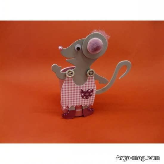 ساخت موش کاردستی