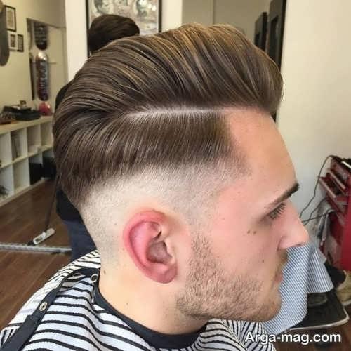 مدل موی مردانه رنگ شده