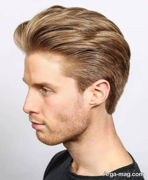 مدل موی مردانه رنگ شده جدید و زیبا
