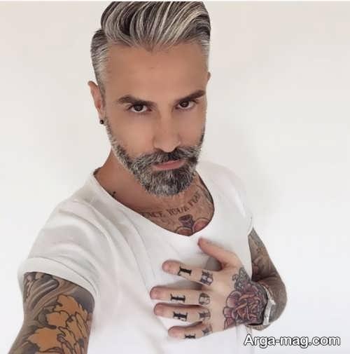 رنگ مو مردانه میانسال