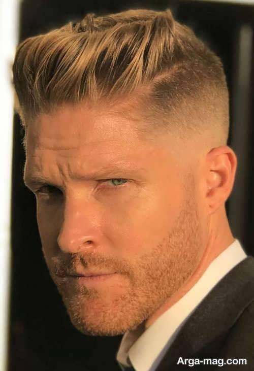 رنگ موی زیبا مردانه