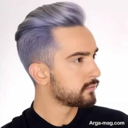 رنگ موی شیک و جدید مردانه