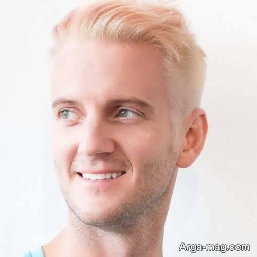 رنگ مو روشن مردانه