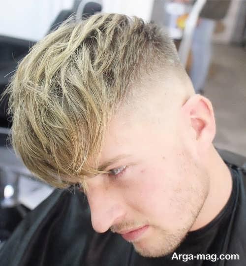 رنگ مو روشن و زیبا مردانه