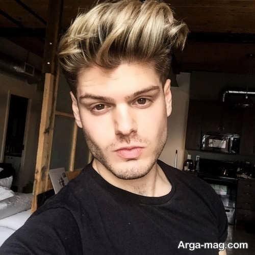رنگ موی شیک و تیره مردانه