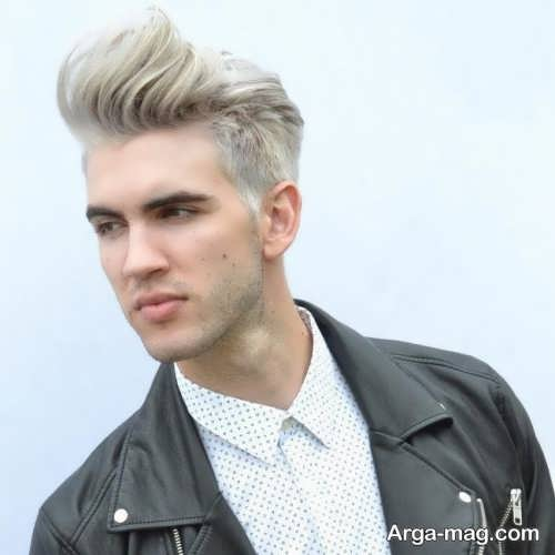رنگ موی زیبا و روشن مردانه