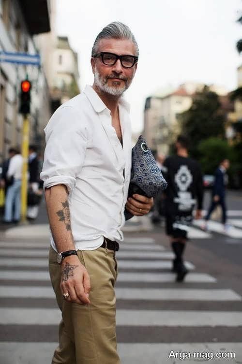 مدل مو مردانه برای افراد میانسال با متدهای جدید