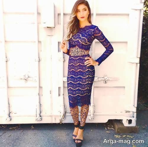 مدل دامن گیپور زنانه