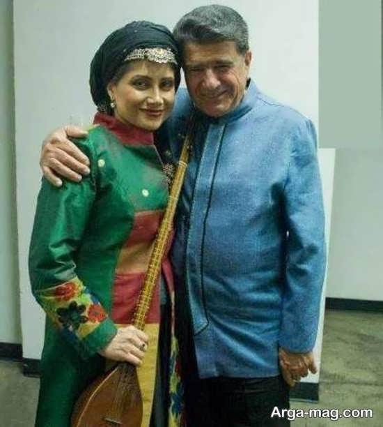 عکس های محمدرضا شجریان در کنار دخترش