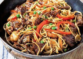 پیشنهاد آشپزی برای آخر هفته با منوی غذایی چینی