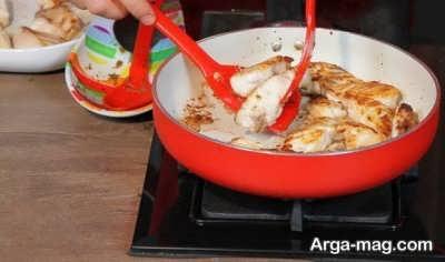 سرخ کردن ماهی