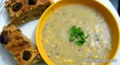 طرز تهیه سوپ ذرت