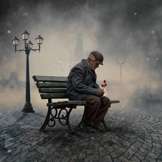 عکس پروفایل تنهایی برای افراد میانسال