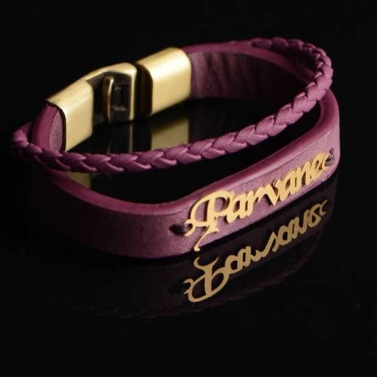 عکس پروفایل با طرح دستبند با اسم پروانه