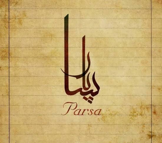 عکس پروفایل متفاوت در مورد اسم پارسا