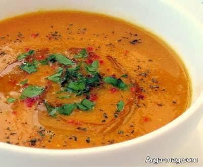 طرز تهیه سوپ ازوگلین