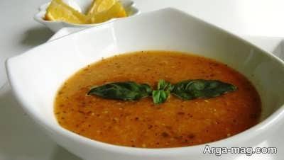 مواد لازم برای تهیه سوپ ازوگلین