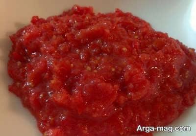 پوره گوجه فرنگی