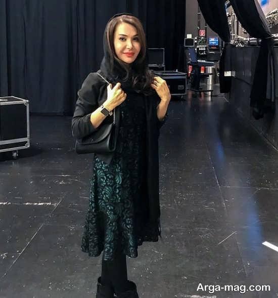 حضور شیوا بلوریان در کنسرت محسن یگانه