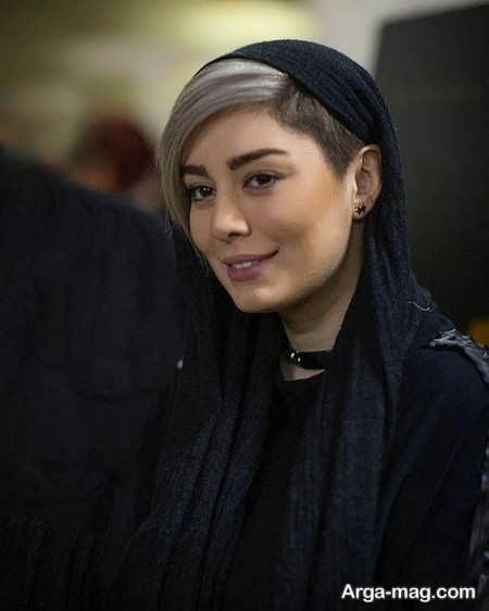 مدل موی کوتاه زیر روسری