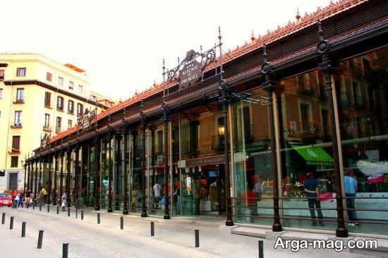 بازار سن میگل در شهر مادرید