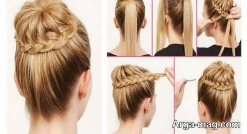 [تصویر:  Simple-chignon-home-12.jpg]