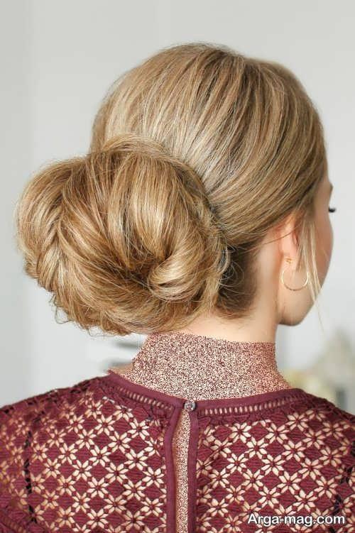 مدل موی بسته و جمع