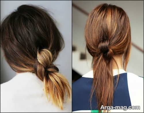 [تصویر:  Simple-chignon-home-6.jpg]