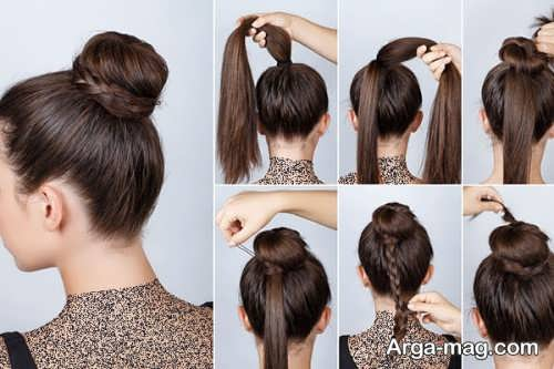 [تصویر:  Simple-chignon-home-7.jpg]