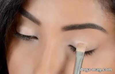 آرایش چشم شیک و ساده