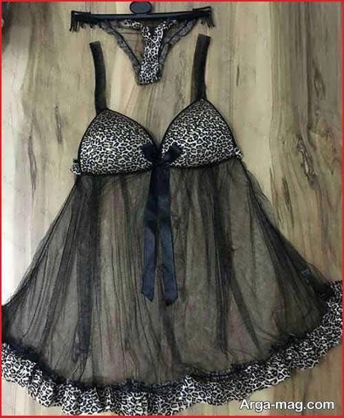لباس خواب حریر برای عروس