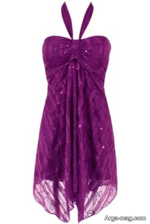 لباس خواب بنفش زنانه