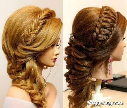 [تصویر:  Stylish-haircut-plait-model-1.jpg]