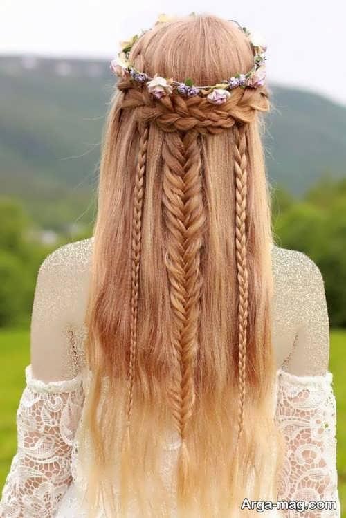 مدل بافت موی زیبا دخترانه