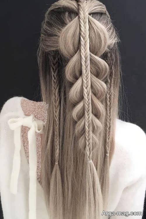 مدل بافت مو بلند