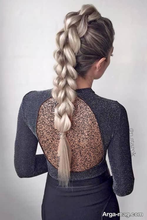 مدل بافت موی زیبا و مجلسی