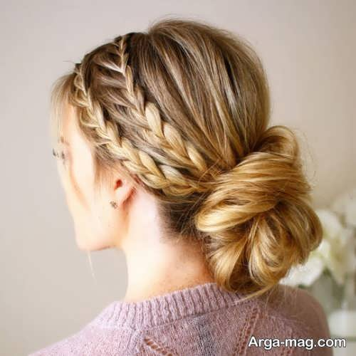 [تصویر:  Stylish-haircut-plait-model-3.jpg]