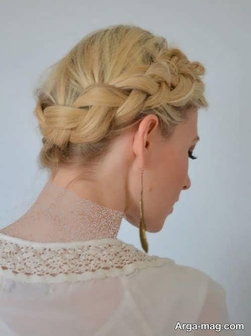مدل بافت موی زنانه مجلسی