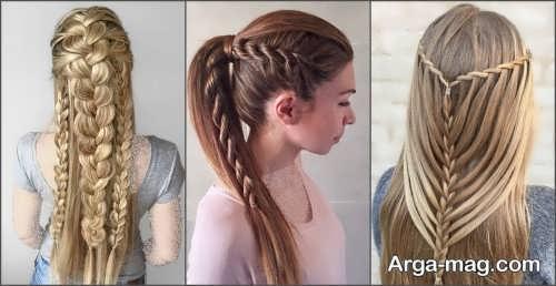 مدل بافت موی بلند مجلسی