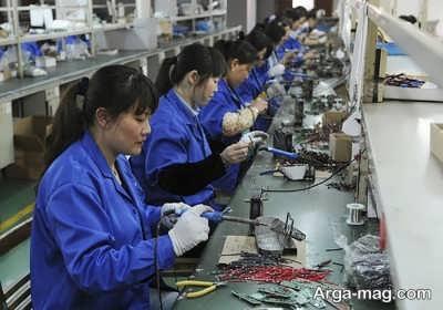 علت سخت کوش بودن کارمندان چینی