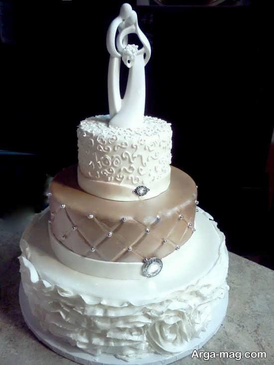 مدل کیک عروس