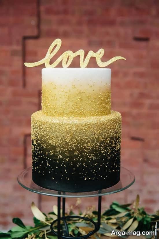 ایده هایی برای تزیین کیک عروسی