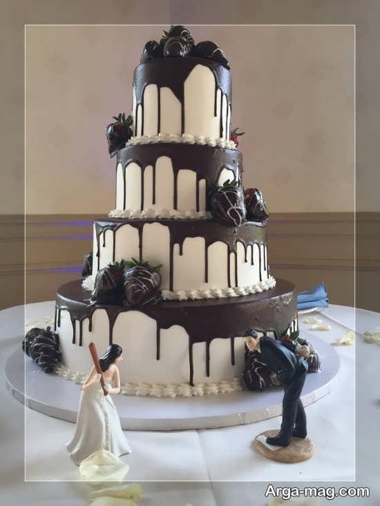 مدل کیک عروسی زیبا و فانتزی