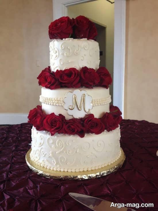 مدل کیک عروسی زیبا و شیک