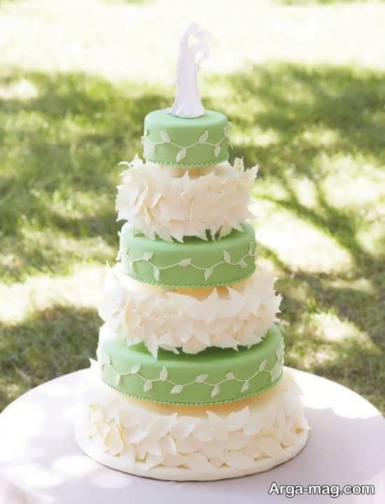 کیک عروسی زیبا و شیک