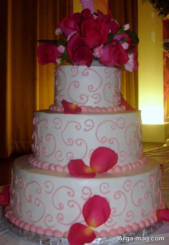 تزیین کیک برای جشن عروسی