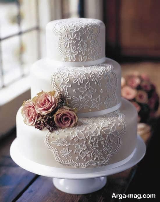 کیک عروسی زیبا
